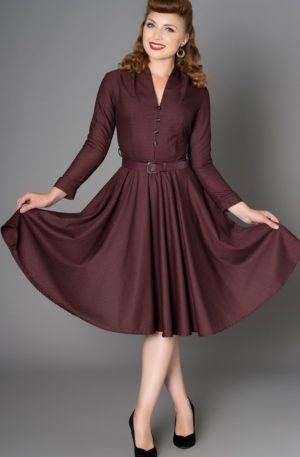 Sheen Clothing Herbst Kleid Helena von Rockabilly Rules