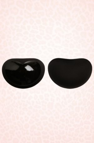 Sticky Push-Up Bra Cups in Black