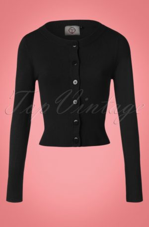 50s Dolly Cardigan in Black