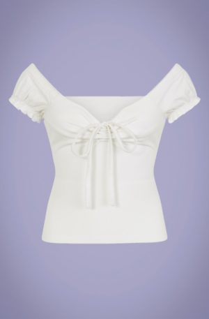 50s Sasha T-Shirt in White