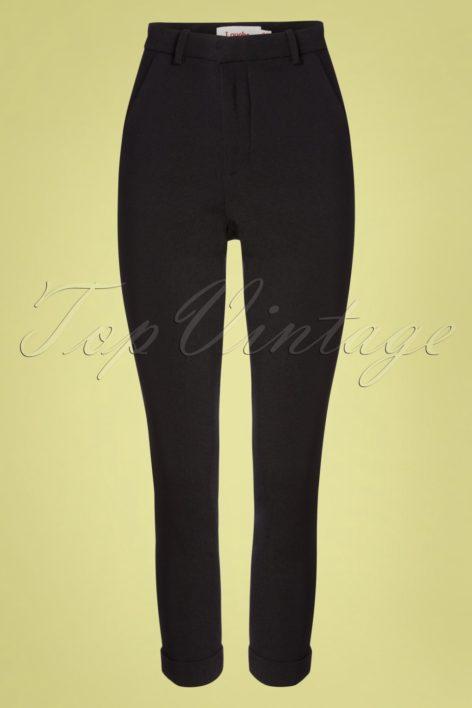 60s Jaylo Trousers in Black