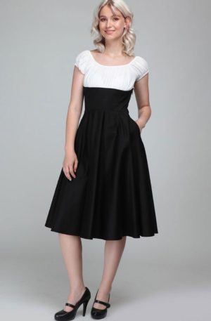 Collectif Cesira Classic Swing Dress | Swingkleid von Rockabilly Rules
