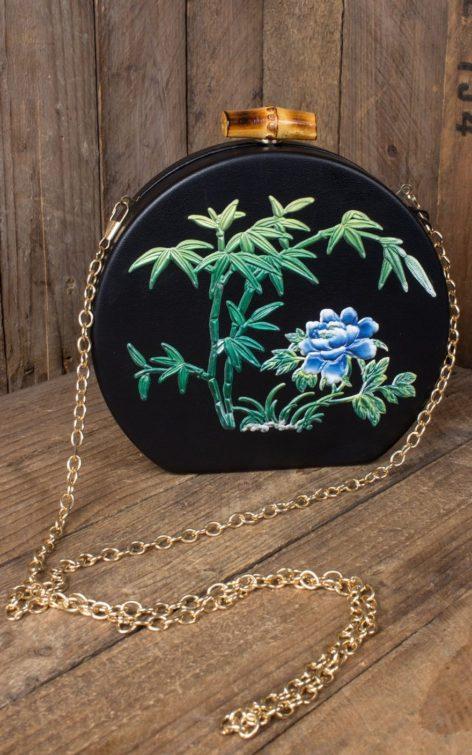 Collectif Handtasche Tania Tiki Clutch von Rockabilly Rules