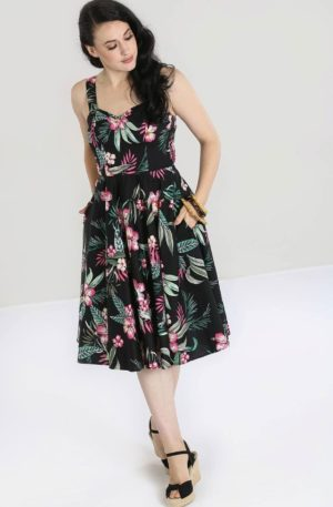 Hellbunny Swing Kleid 50's Kalani von Rockabilly Rules