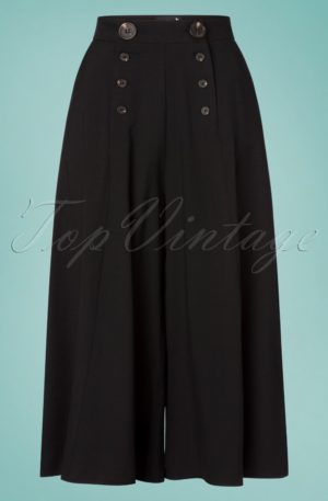 30s Murphy Culottes in Black