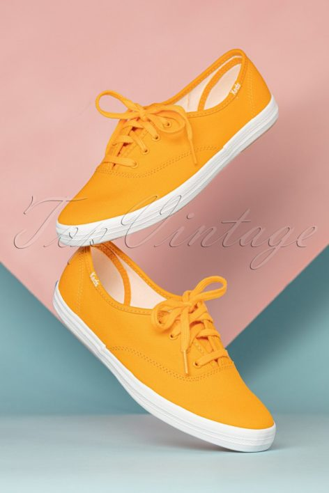 50s Champion Seasonal Sneakers in Yellow