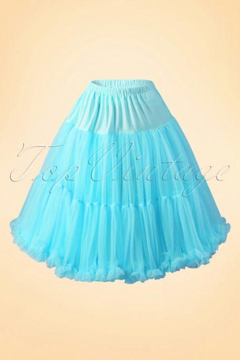50s Lola Lifeforms Petticoat in Blue