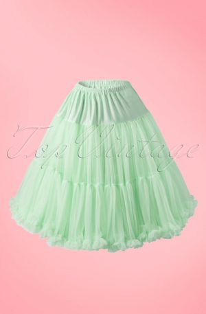 50s Lola Lifeforms Petticoat in Mint Green