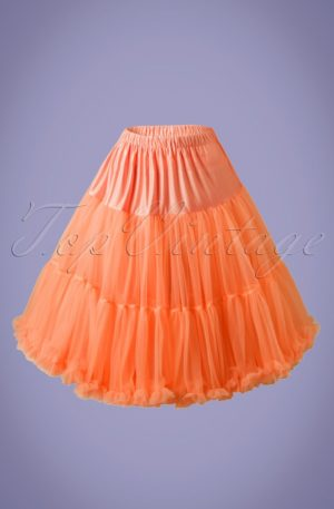 50s Lola Lifeforms Petticoat in Orange