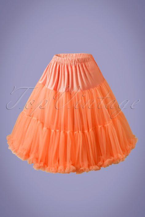 50s Lola Lifeforms Petticoat in Orange