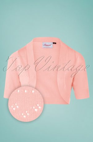 50s You Are My Sunshine Bolero in Pink