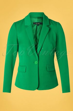 60s Daisy Broadway Blazer in Very Green