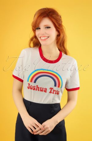 70s Joshua Tree T-Shirt in Cream