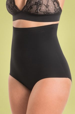 Maxi Sexy Hi Brief in Black