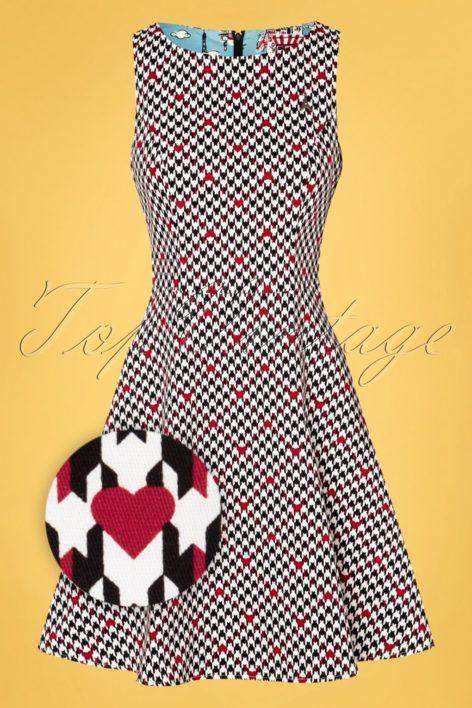 50s Etui De La Elodie Dress in Classic Chic Black