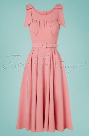 50s Gia Nina Dress in Rose Pink