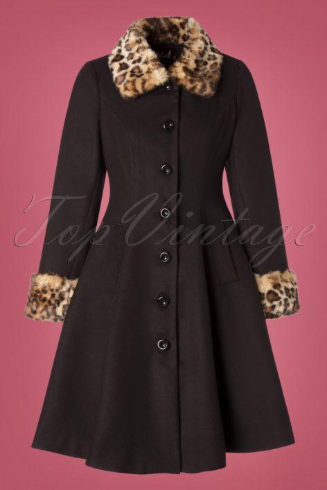50s Robinson Coat in Black