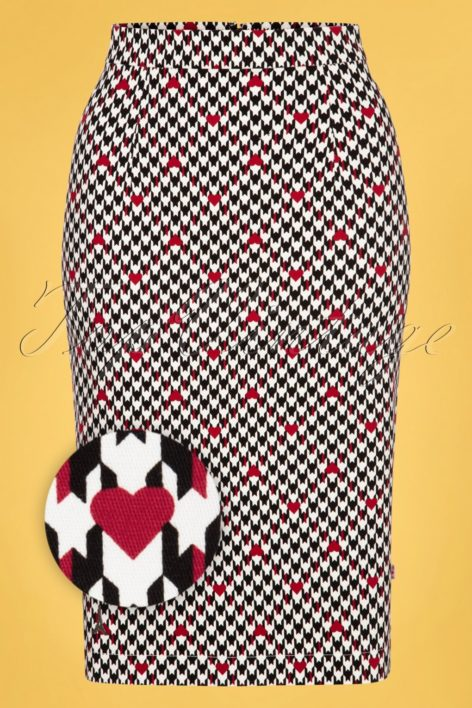 50s Sweet Seduction Skirt in Classic Chic Black