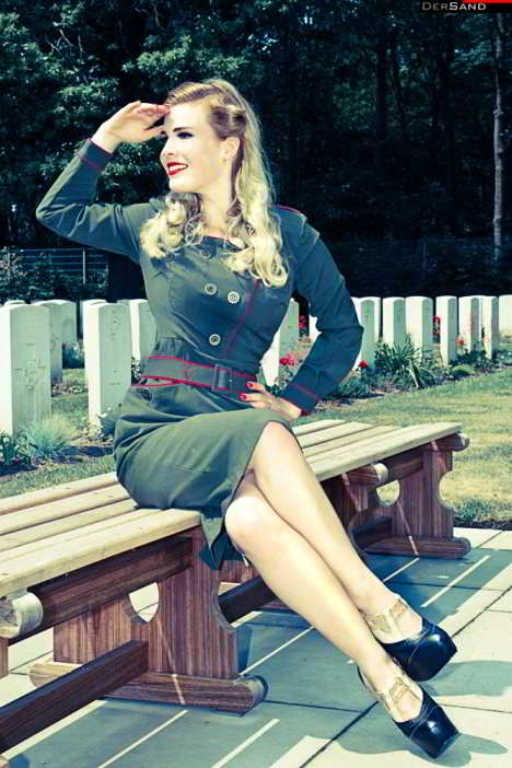 Pin Up Girl Pinup Rockabilly Styling Für Die Frau