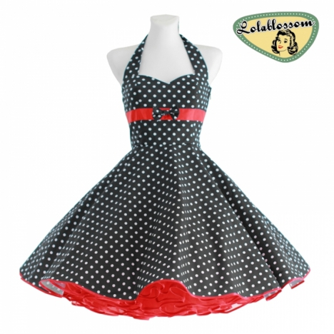 rockabilly swing kleid