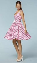 50er-Jahre-Look Petticoat Kleid Schnittmuster