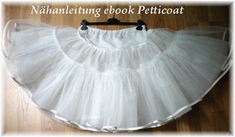 Petticoat kleid selber nahen schnittmuster