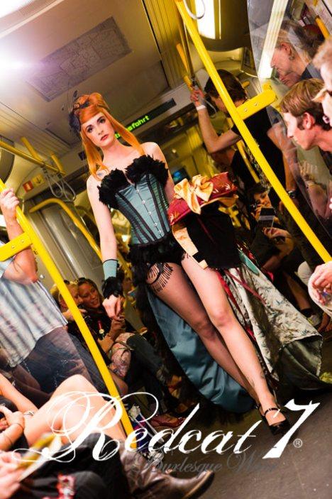 Underground Catwalk 2010, Model: Franziska, H&M: Maxine