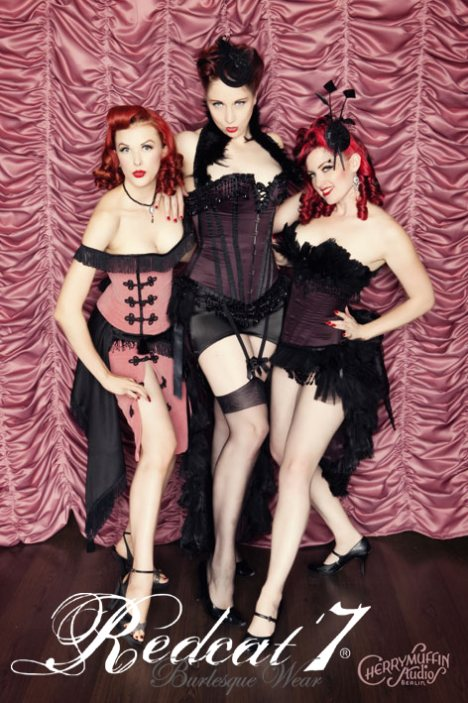 Foto: Cherrymuffin Studios, Models: Bettina May, Eve Champagne, Go-go Amy
