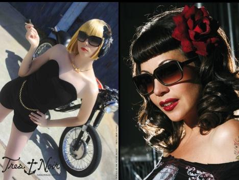 5fb73806b159 Tres Noir Rockabilly Sunglasses - Pinup-Fashion.co.uk