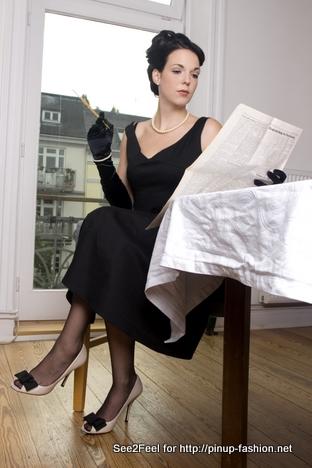 50er jahre mode. Black Bedroom Furniture Sets. Home Design Ideas