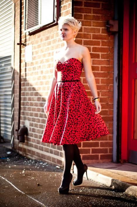 styleiconscloset 50s style dress