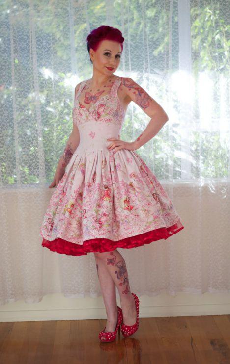 Brautkleid Pinup Fashion De