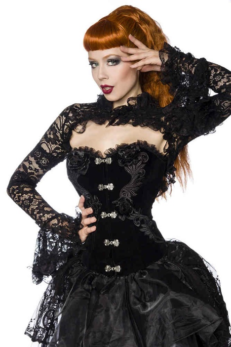 samt burlesque dress