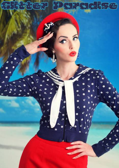sailor pinup
