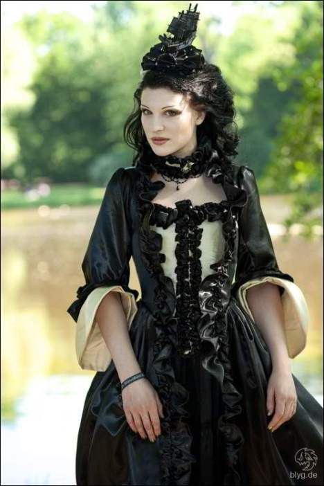 gothic kleid