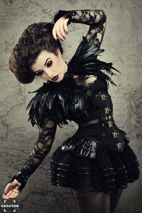gothic korsett