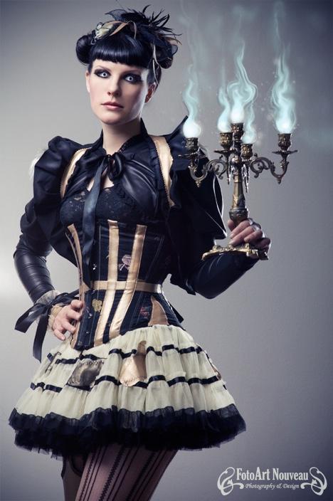 steampunk-dress