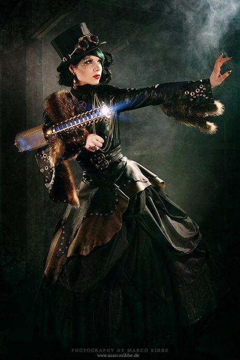 steampunk kleider kombinationen