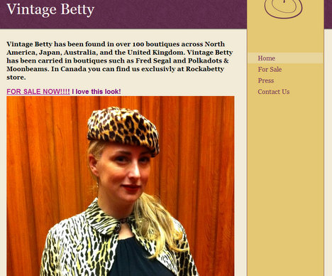 vintage betty
