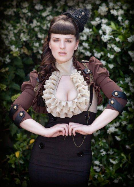 steampunk kleid