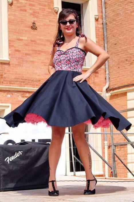 petticoat swing kleid