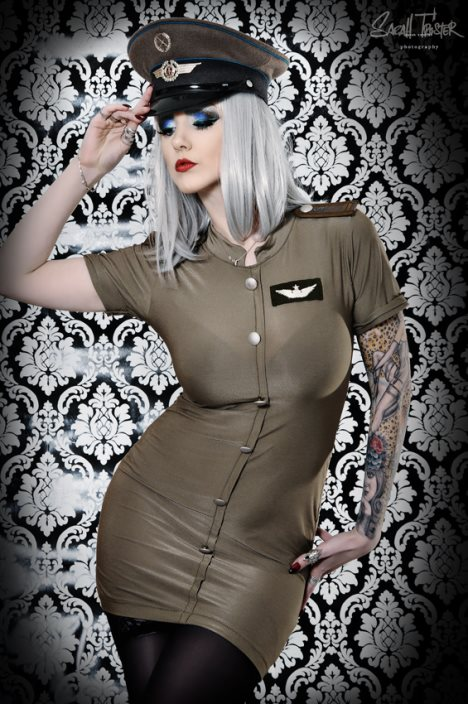 pin up uniform