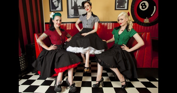 Rockabilly kleidung pin up rockabilly mode kleider mehr - Rockabilly outfit damen ...