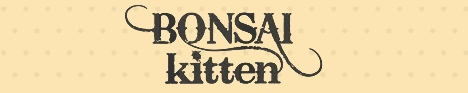 bonsai kitten logo