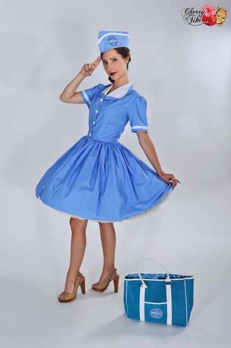pan am pinup dress