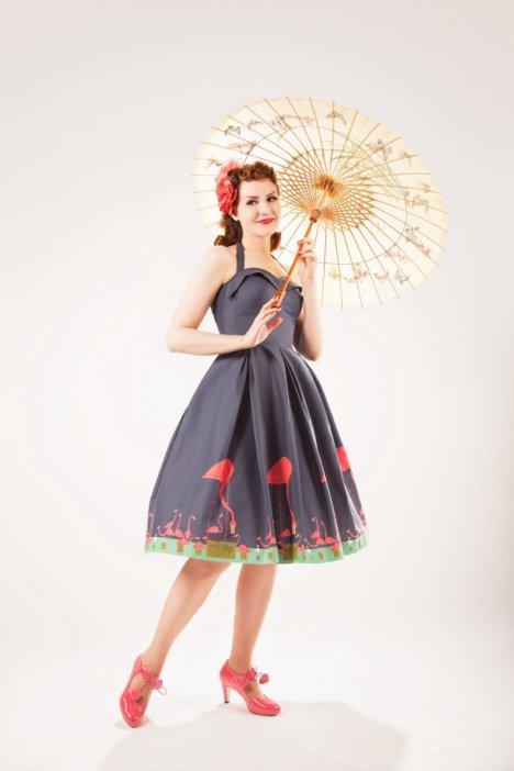 vintage style kleid