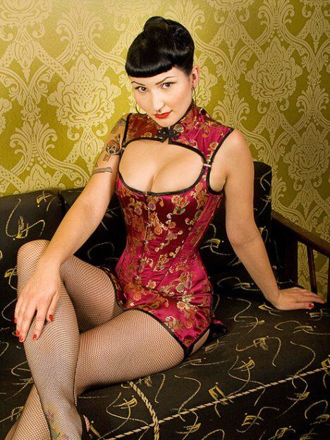 chinesisches korsett dress