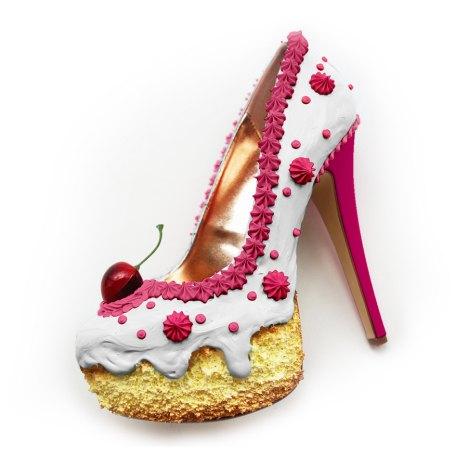 Shoe Bakery Pinup Schuhe Im Torten Look