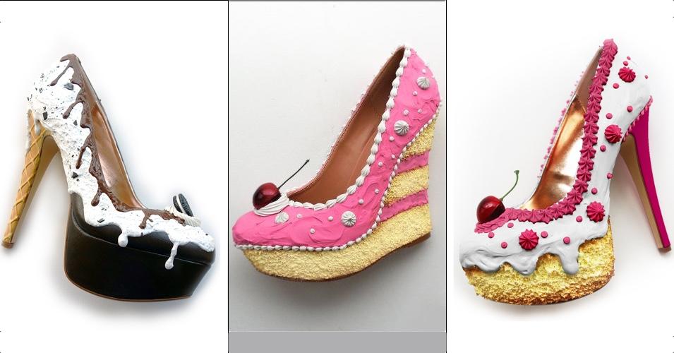 a46efdb397f28b Shoe Bakery – Pinup Schuhe im Torten-Look