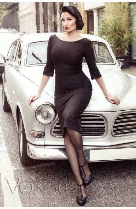 506d68dca06d3e VON 50′ – Vintage Mode in französischem Stil